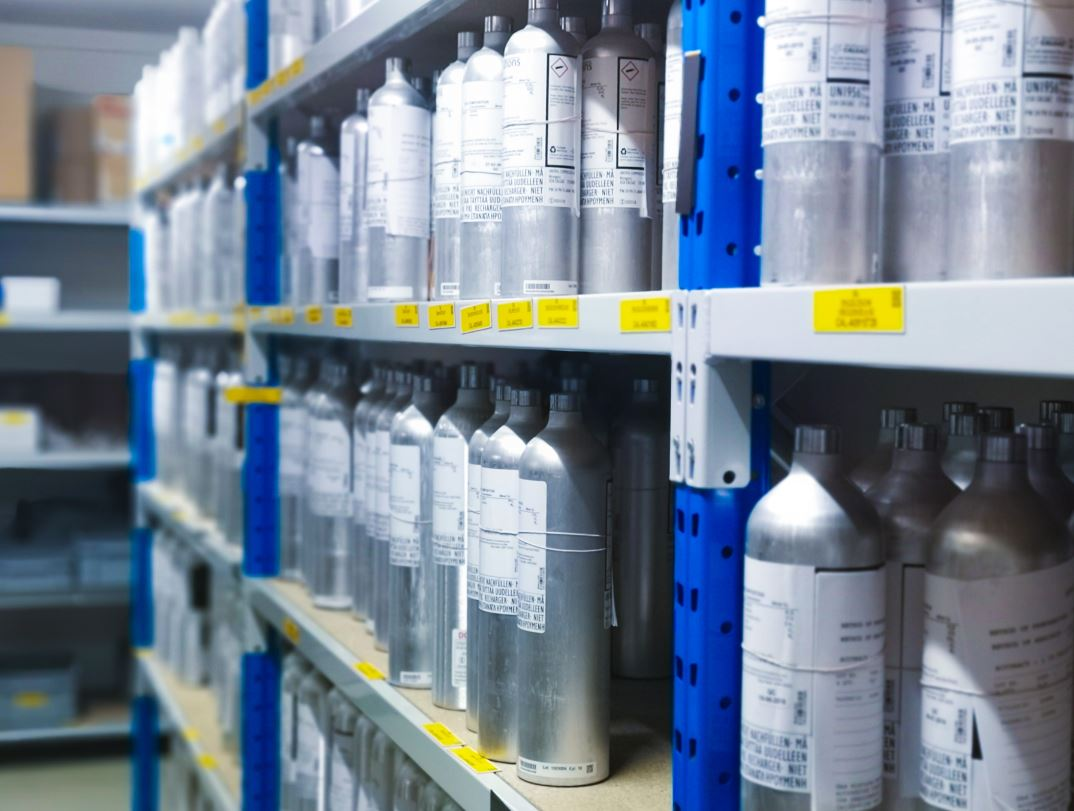 gas calibration bottle 7Solutions